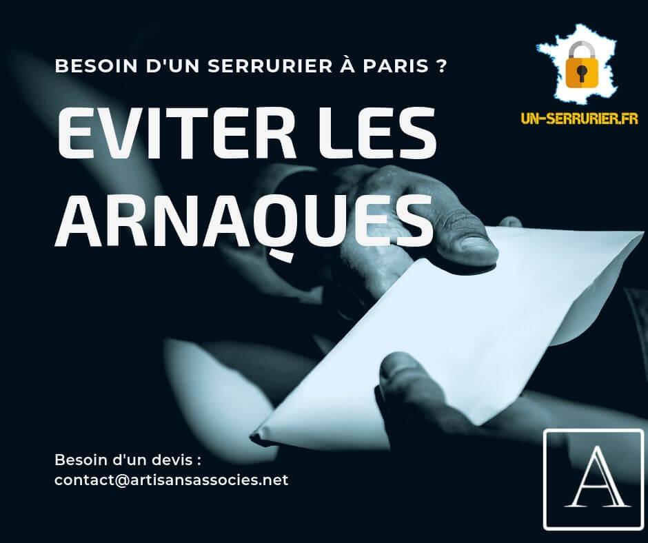 Eviter les arnaques de faux serruriers à Paris, reconnaître un serrurier qualifié à Paris