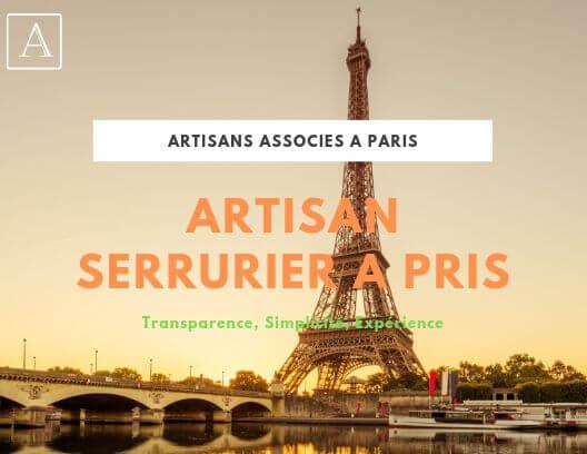 Trouver votre artisan serrurier à Paris